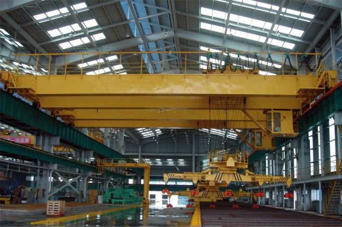 旋转电磁吸盘桥式起重机起重机生产厂家