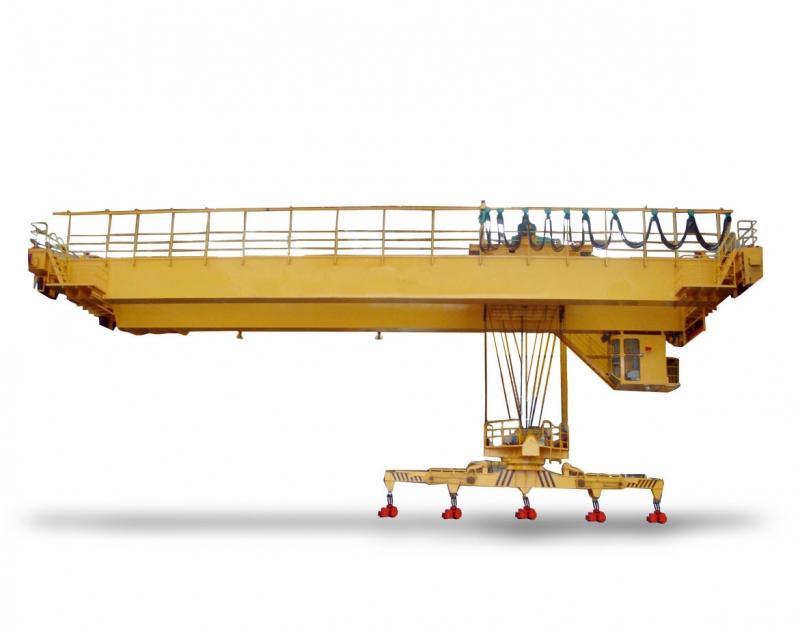 吊运具有导磁性产品用旋转电磁桥式起重机