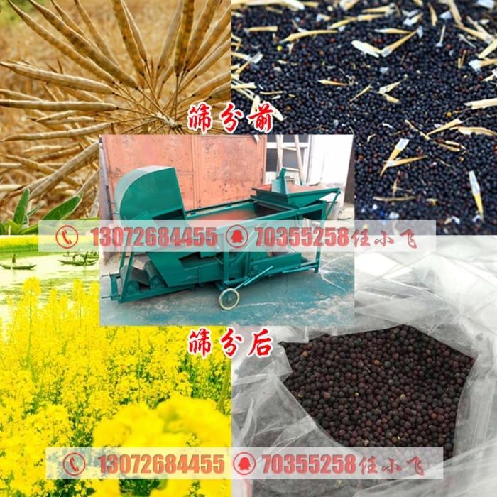 家庭用麦种碎粮筛分清选机/两项电稻谷除糠除杂筛选机