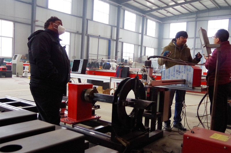 方管切割机四轴方管圆管切割一体机数控切割机