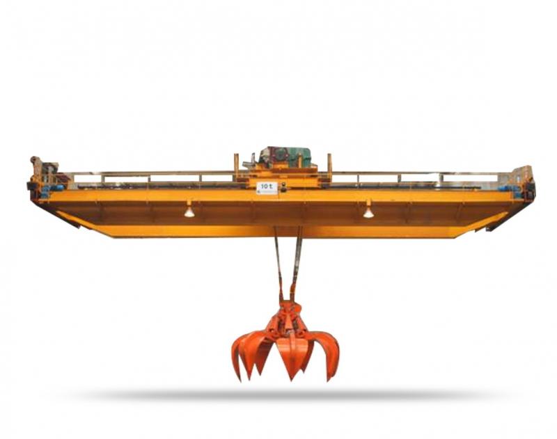 600-4800吨垃圾抓斗桥式起重机 纽科伦起重机