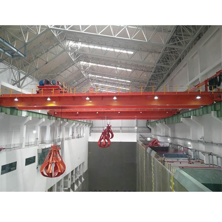 1200吨垃圾处理厂用垃圾抓斗桥式起重机