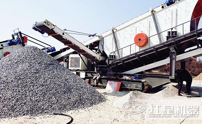 不同物料的机制砂生产线该如何配置?Z84