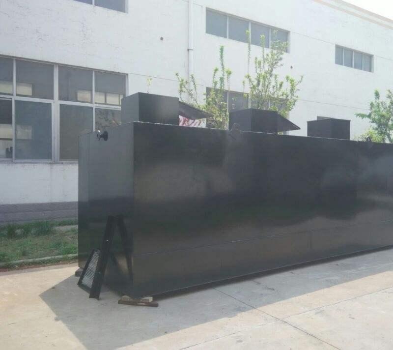 沧州新农村改造生活污水处理设备厂家直销 地埋式农村生活污水处理设备