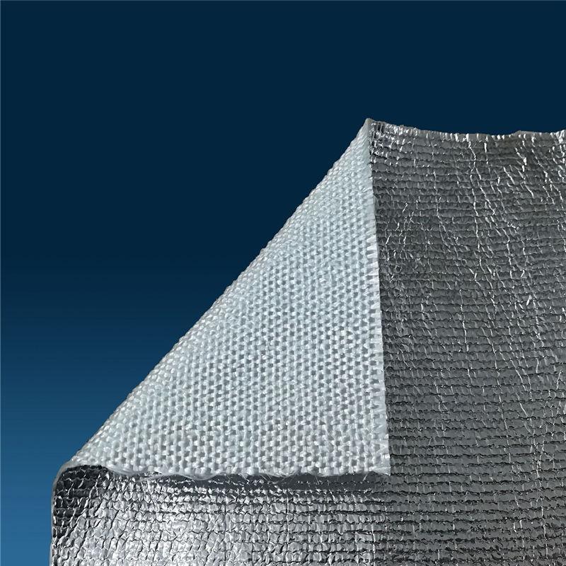 天兴 覆铝箔玻璃纤维布 铝箔耐火布 保温隔热布