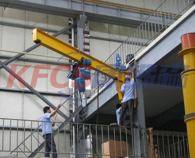 昆山市墙壁式悬臂吊