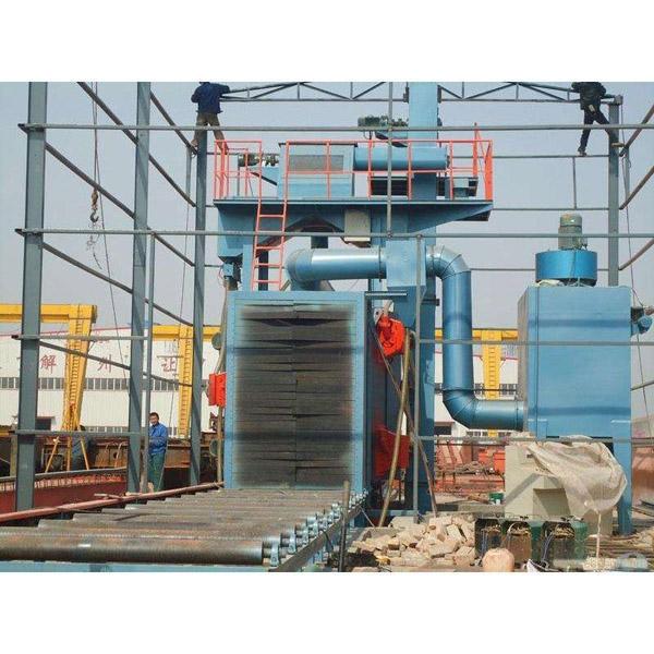 厂家生产铆焊件抛丸机 除锈除氧化皮去焊渣