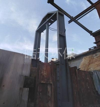 厂家定制大型烟道插板阀、脱硫烟气挡板门