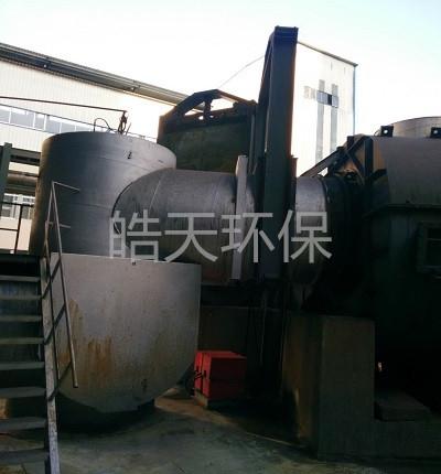 脱硫挡板门生产厂家 皓天环保电动液压挡板门