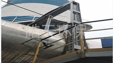 皓天环保电动液压挡板阀 高密封性无泄漏的烟道挡板门