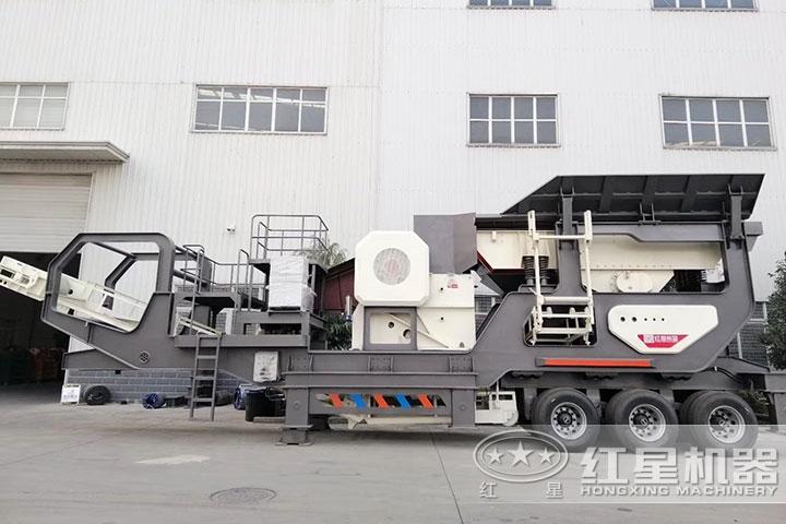时产100吨移动建筑垃圾移动破碎站多少钱可以买到?Z85