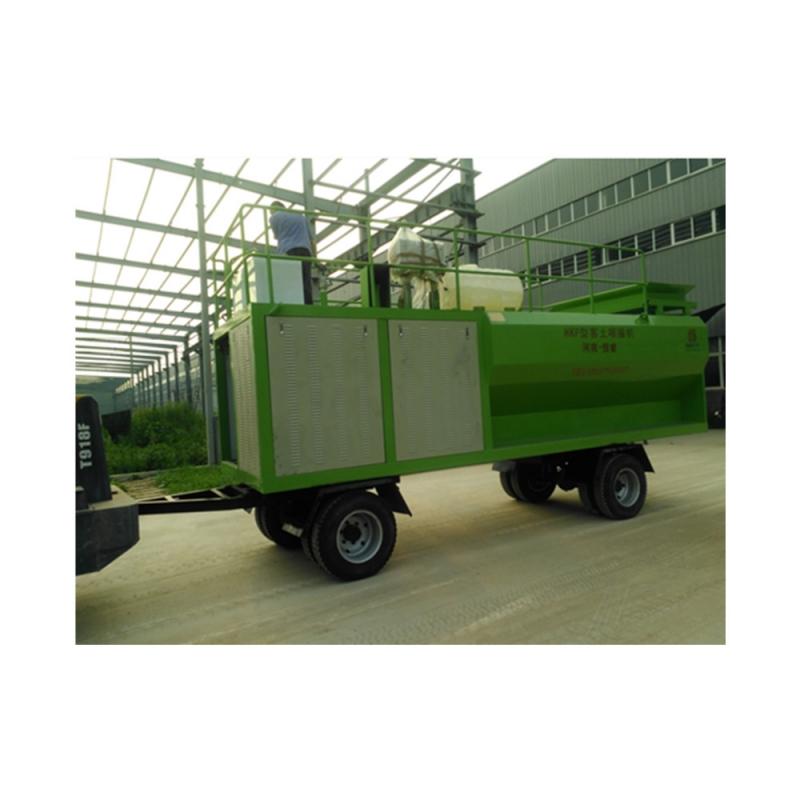 江西省二手客土喷坡机 喷坡机器绿化客土喷草机二手价格合理