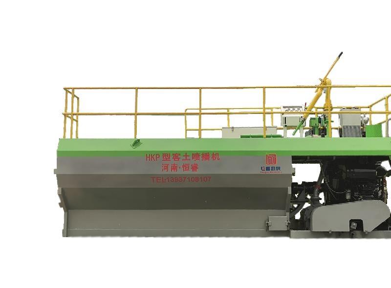 广西边坡绿化喷播机价格 荒山边坡绿化喷土喷播机厂家恒睿机械