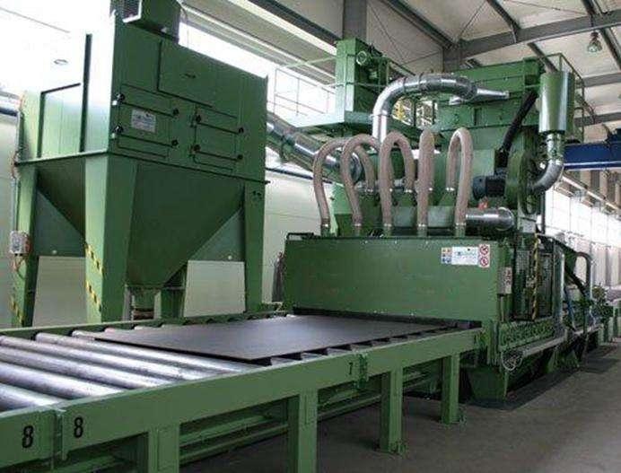 河北唐山铝材抛丸机 生产厂家直销