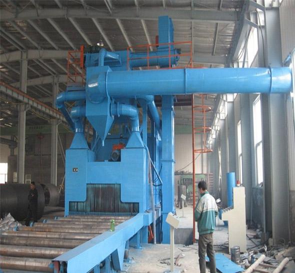 重庆铝合金抛丸机 大型实体厂家