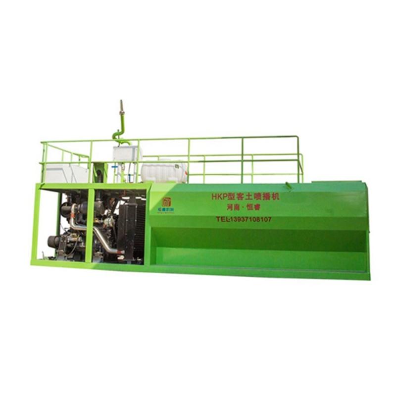 河南工程机械用发动机 北京客土式液力喷播机生产厂家恒睿机械