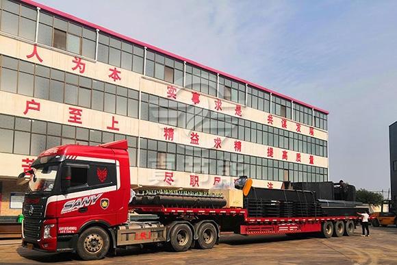运行稳定可靠ZJN三筒工业污泥干燥机