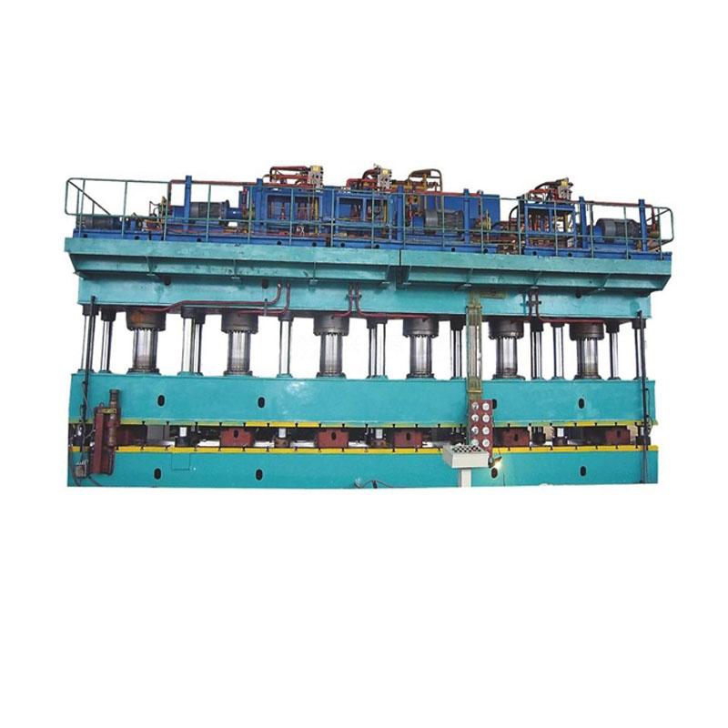 YHW89系列汽车纵梁成型液压机