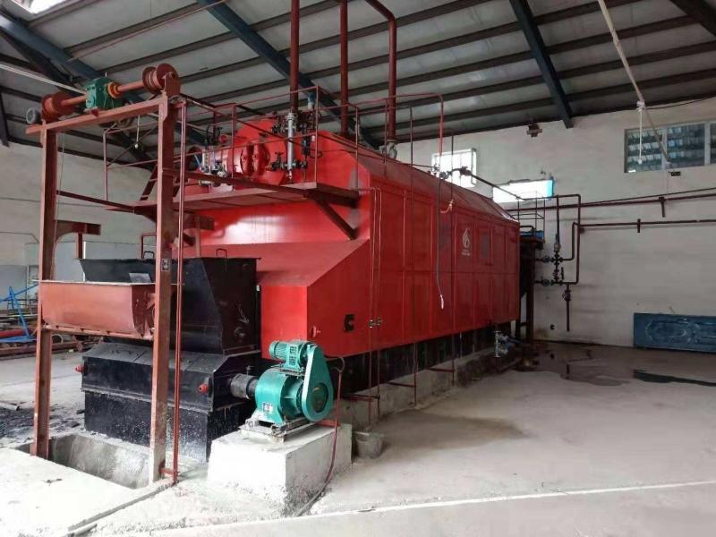 双锅筒生物质蒸汽锅炉