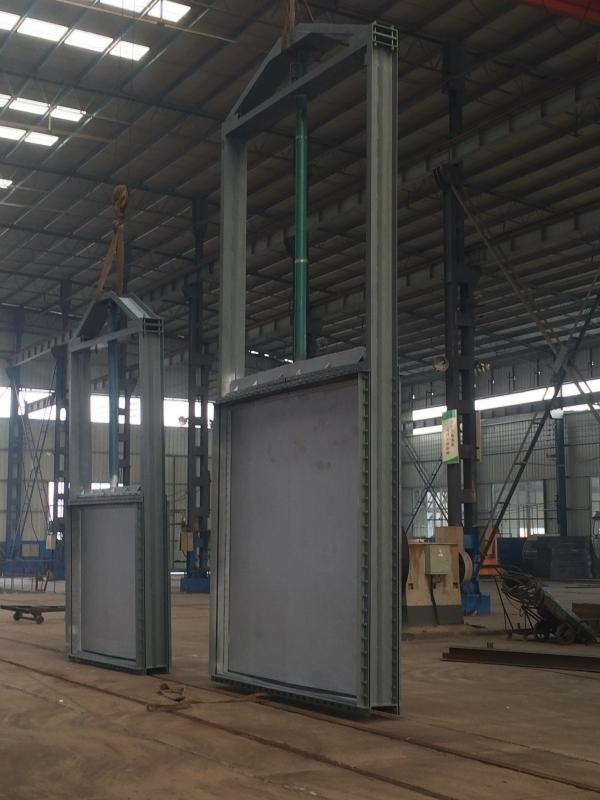 克劳森-焦化焦炉脱硫脱硝-电动液压挡板门