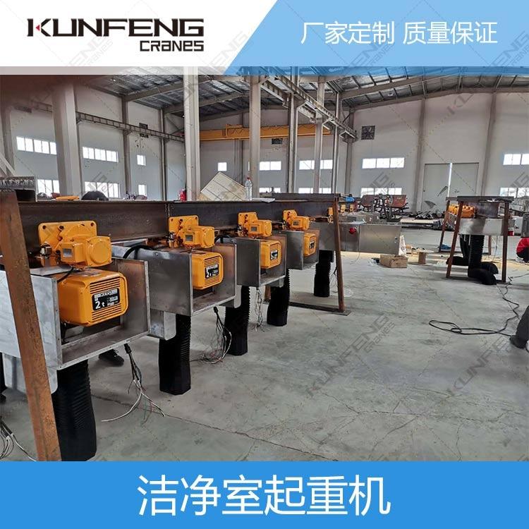杭州洁净室电动葫芦行车