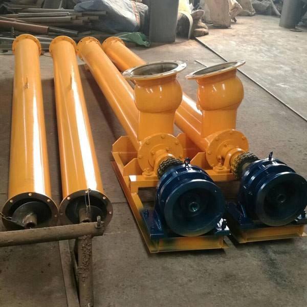 水泥厂用螺旋输送机 大型管式绞龙输送机 供应新型输送机设备