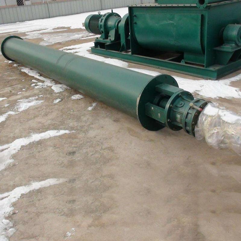 螺旋输送机-磨料管式螺旋输送机厂家-价格优惠型号齐全