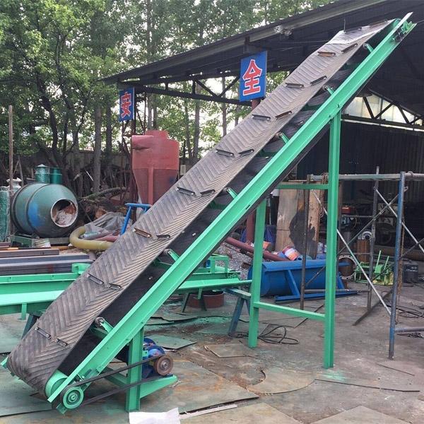 专业定制固定式皮带输送机厂家 大倾角输送机 矿用皮带机
