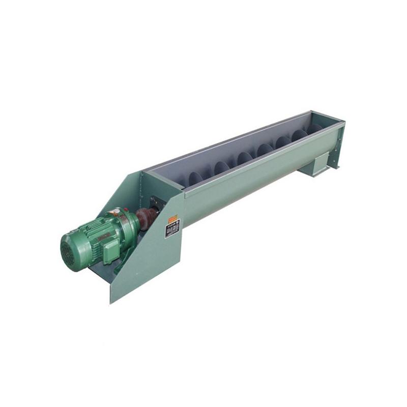 螺旋输送机-U型复合肥螺旋输送机厂家直销-材质性能图纸原理