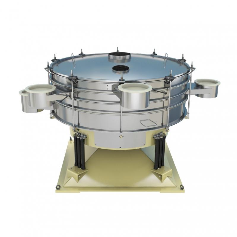 气旋筛-氧化铬专用气流筛粉机生产厂家直销-提供图纸报价方案