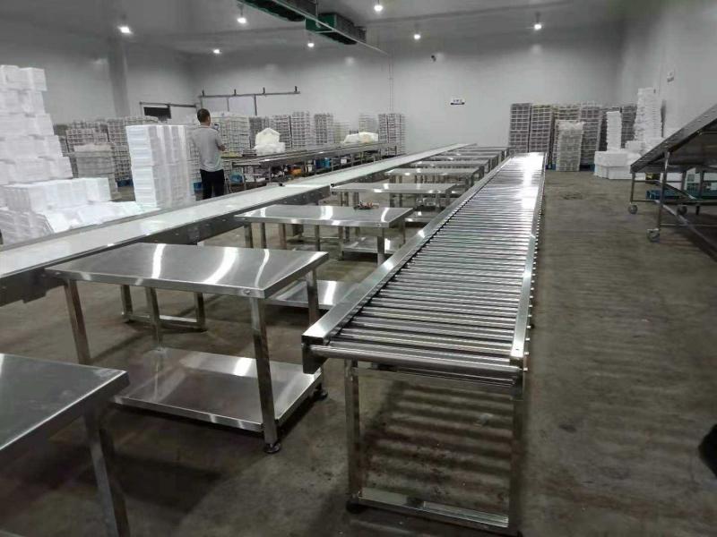 输送机-包胶滚筒滚筒输送机厂家供应-材质型号原理技术