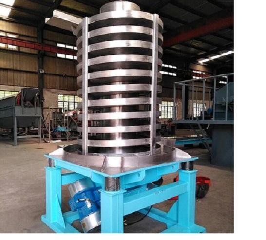 垂直振动提升机-颗粒物料降温垂直上料机生产厂家-提供方案图纸价格