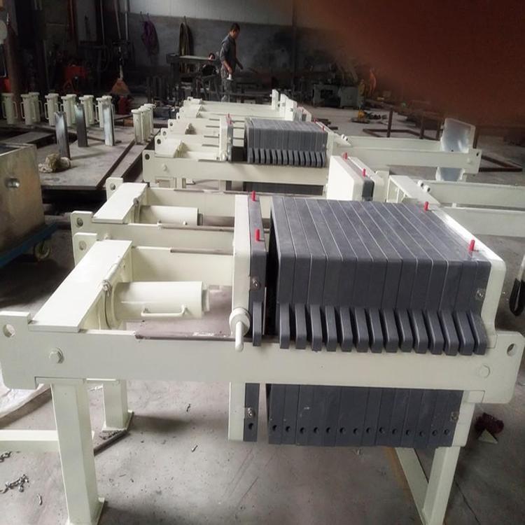 自动厢式压滤机纸浆过滤设备