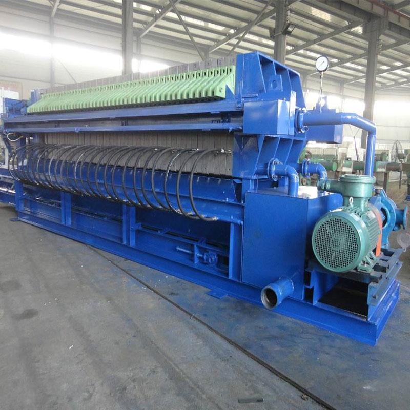 小型铸铁污泥压滤机生产厂家价位