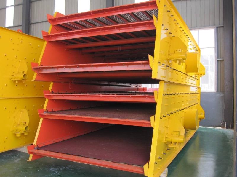 圆振筛-石英砂矿渣圆振筛生产厂家-简介结构组成价格