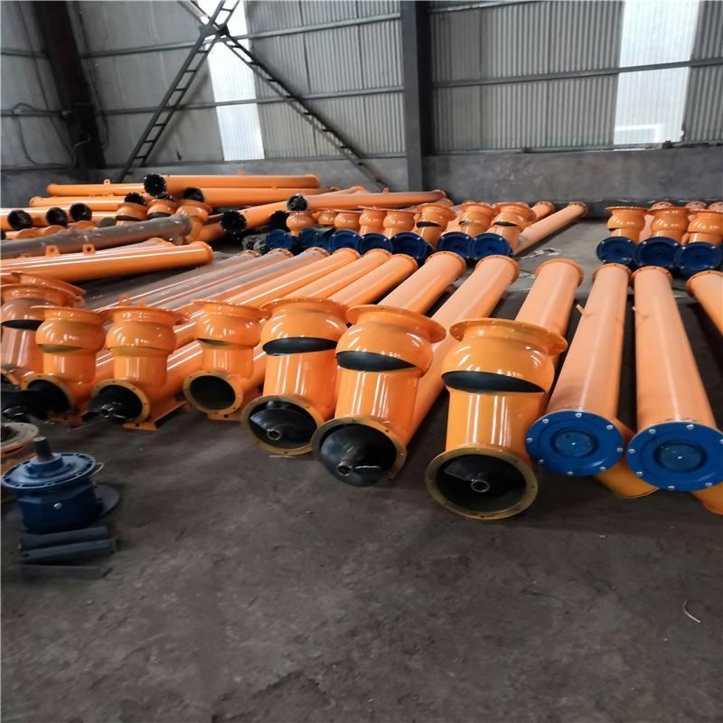 滑石粉螺旋输送机-输送机厂家直供-螺旋输送机型号优势
