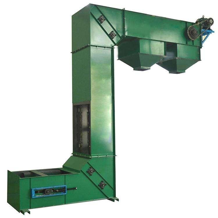 不锈钢斗式提升机-化工厂专用耐高温耐腐蚀斗式上料机生产厂家直销