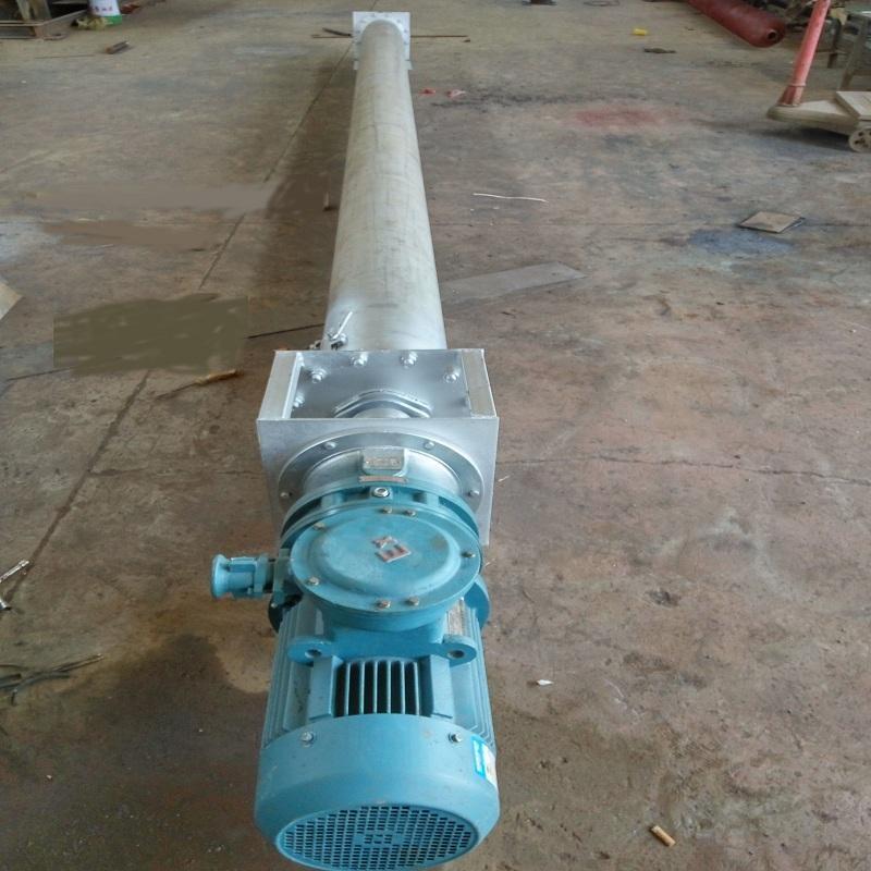 罐头螺旋输送机-螺旋输送机结构组成-输送机厂家非标定制