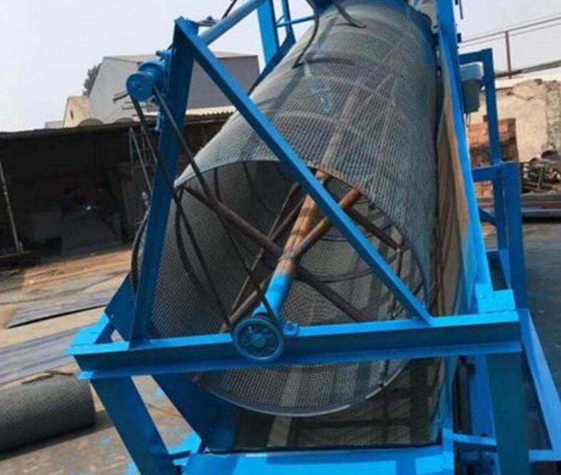 滚筒筛分机,氧化钙滚筒筛厂家,滚筒筛维护使用