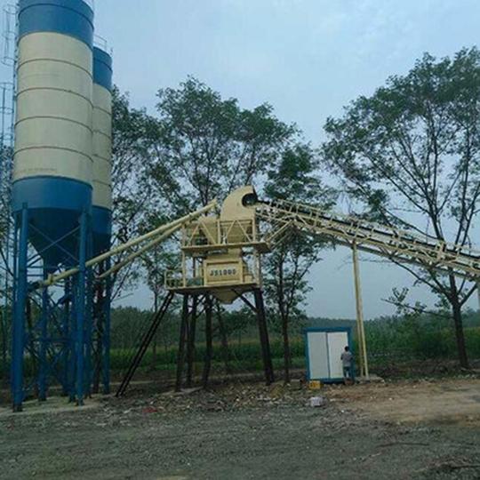 小型25混凝土搅拌站厂