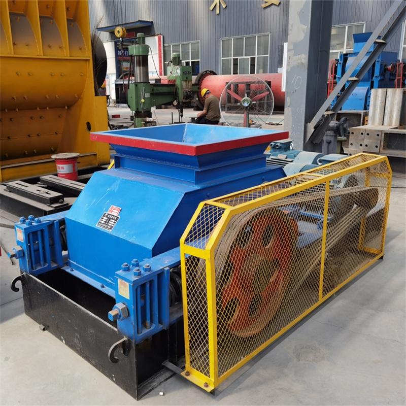 煤矿用对辊破碎机生产视频
