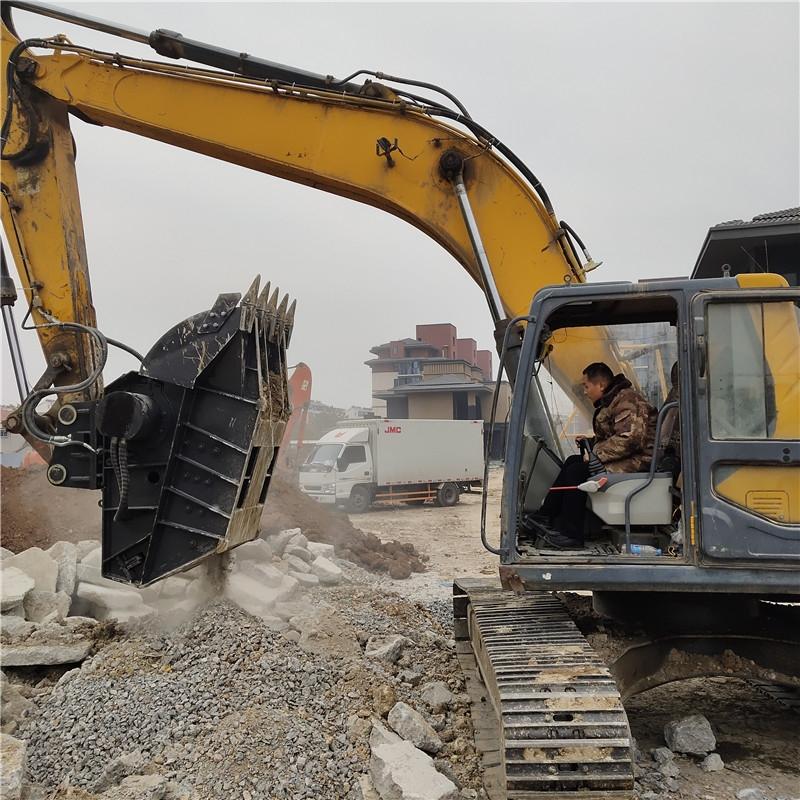 挖掘机破碎斗