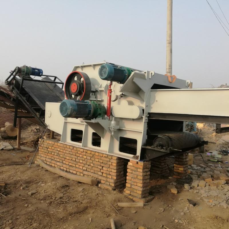 带钉子模板粉碎机建筑垃圾模板破碎机