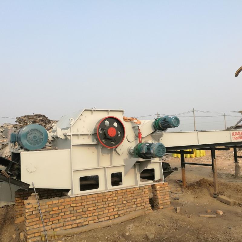 电两用综合式建筑模板破碎机