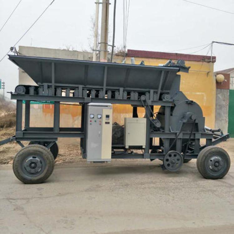 移动小型制砂机