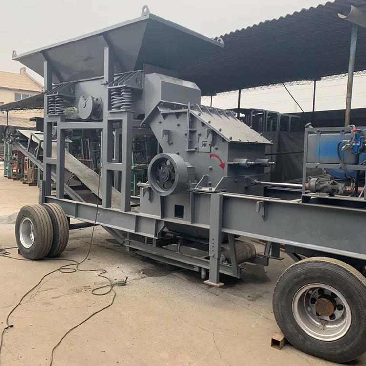 郑州鹅卵石制砂机打砂机