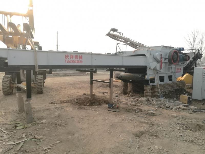 郑州大型木材破碎机