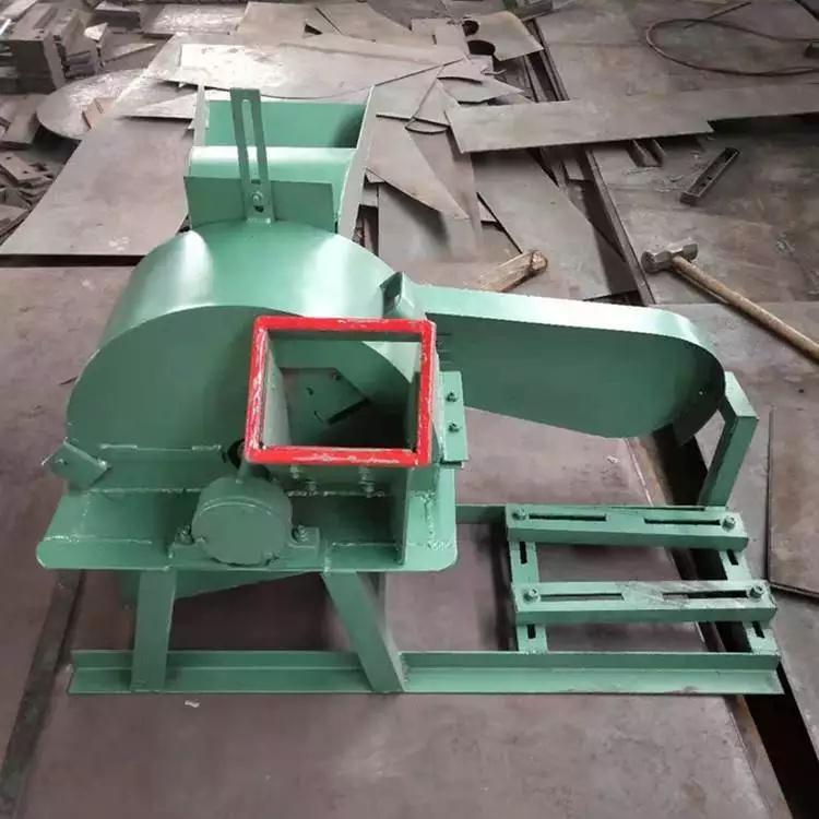 柴油移动盘式木材削片机